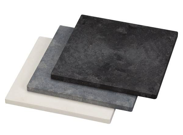 UPM ProFi Floor in three beautiful colours: Marble White, Stone Grey and Night Sky Black