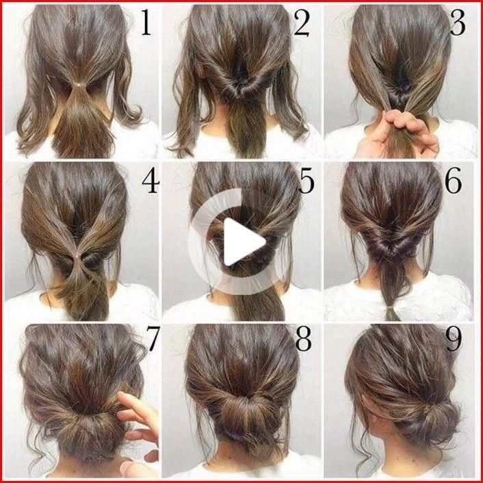 There Are Some Cute Easy Hairstyles For Long Hair That You Can Use As The Model Of Your Daily Hairstyle Idea If Y In 2020 Casual Hair Updos Hair Styles Diy Hairstyles