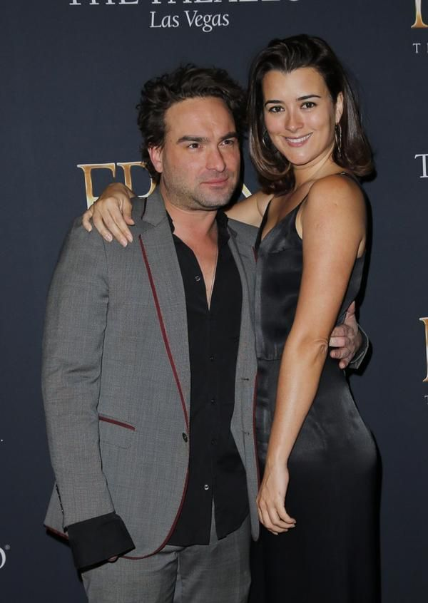 Johnny Galecki And Wife