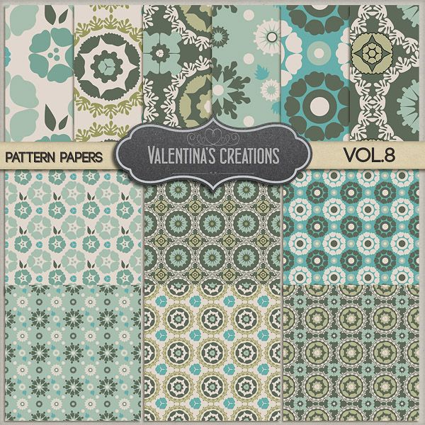 Pattern Papers PSD Vol. 8