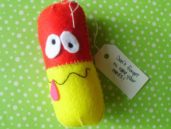 Don T Forget To Take Your Medicine Quotes: Plush Chill Pill Don't Forget To Take Your Meds Medication