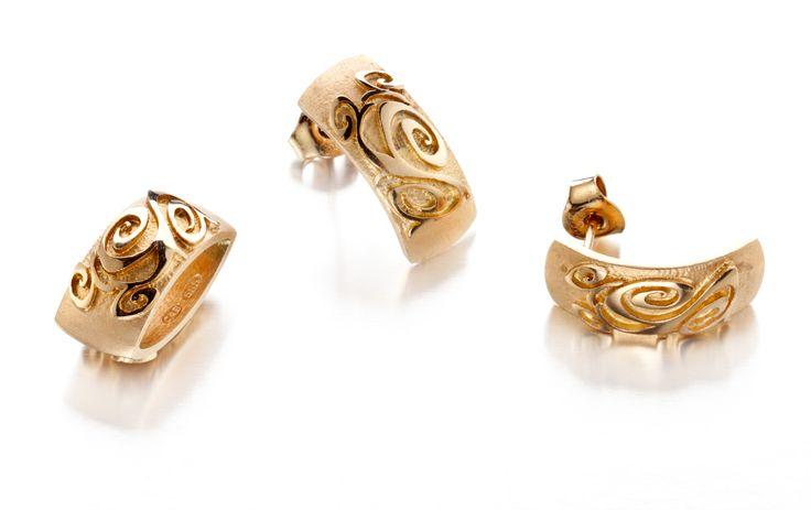 Carina Blomqvist, Baroc earrings and necklace, http://www.carinablomqvist.fi/