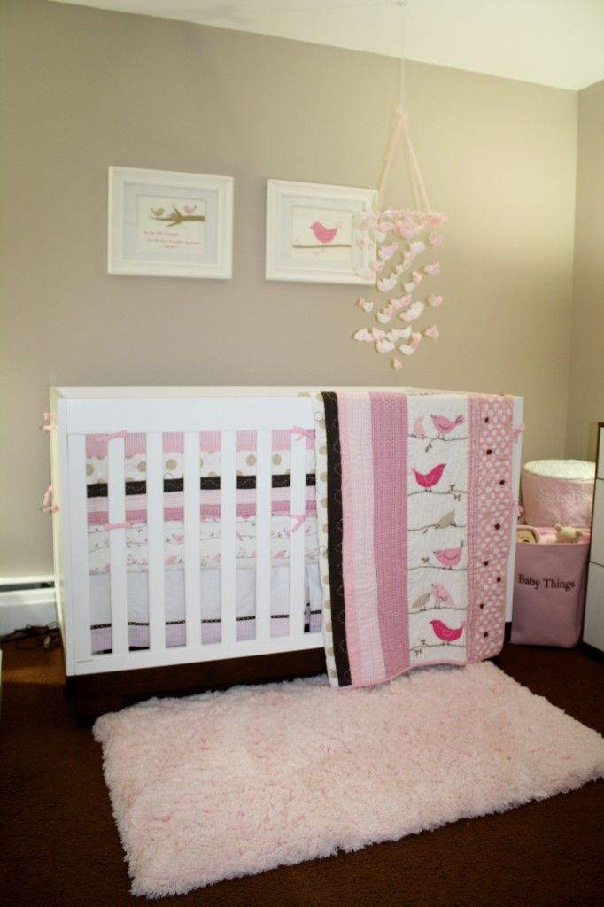 Annelise's Birds Themed Nursery | Project Nurserycute bedding