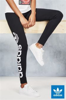 Black adidas Originals Linear Legging