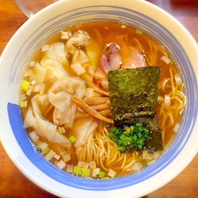 肉ワンタンメン 麺屋 悠/百人町 morimi32 | SnapDish[スナップディッシュ] (ID:WqbKra)