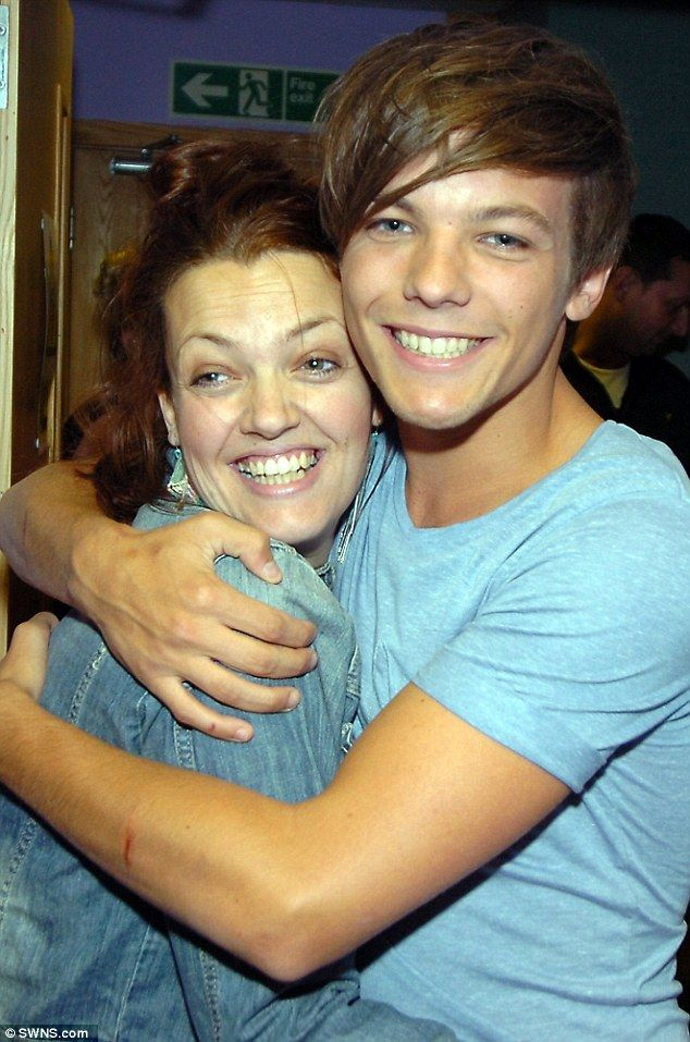 Close: Louis Tomlinson and his mother Johannah Deakin both spoke about their incredibly close relationship in interviews over the years.  It was announced on Friday that Johannah had died at the age of 43 after a battle with leukaemia