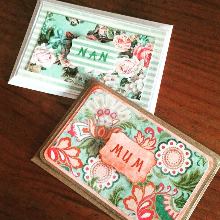 Mother's Day Cards #stampinup