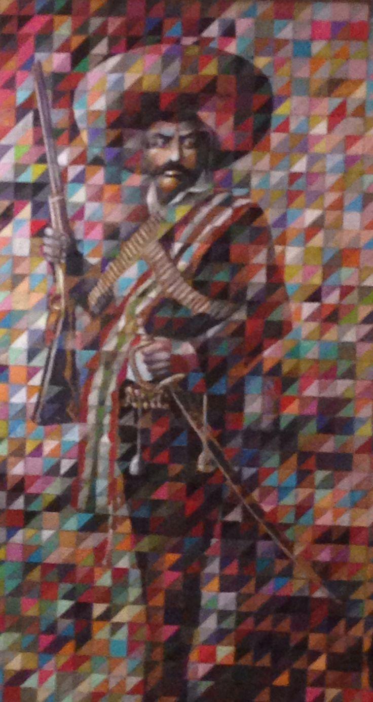 Emiliano Zapata. Art pop | Arte | Pinterest