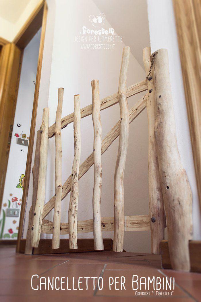 FAI DA TE: Cancelletto per bambini realizzato per rendere sicure le scale di casa.