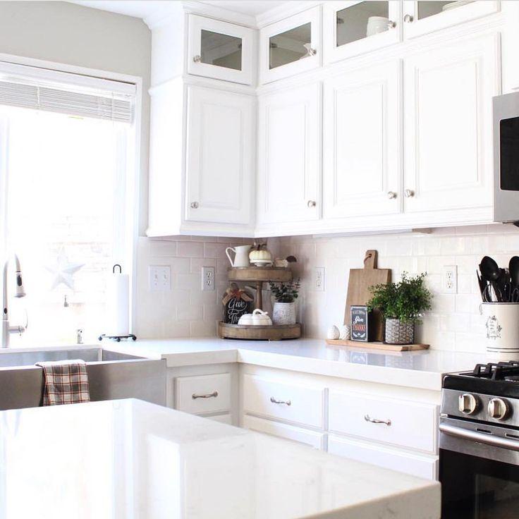 Backsplash Kitchen White Cabinets 146 best white kitchens images on pinterest | white kitchens