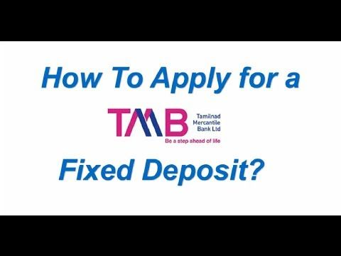 Tamilnad Mercantile Bank Fixed Deposit Rates and Calculator Select impressive FD rates by TMB. #fd #tmb