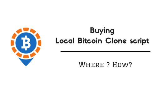 How to buy #Local #Bitcoin clone #script that drives good results? Here you can find the solutions.
