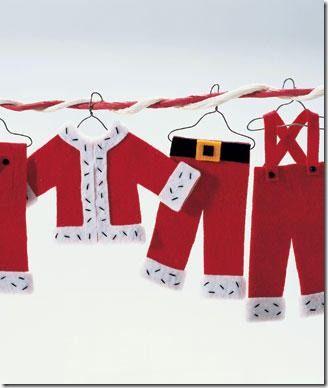 Adornos-navideños-colgantes-de-fieltro