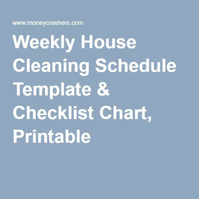Best 25+ Schedule templates ideas on Pinterest Cleaning schedule - business itinerary template