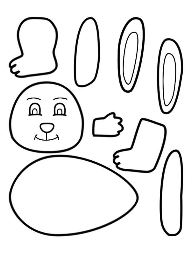 Preschool Easter Crafts Printable In 2020 Easter Crafts Preschool Easter Preschool Easter Worksheets