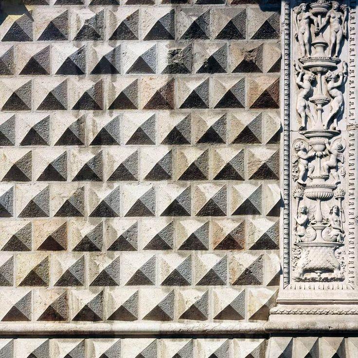 Palazzo dei Diamanti - Biagio ROSSETTI,  1493 - detail of exterior #Ferrara