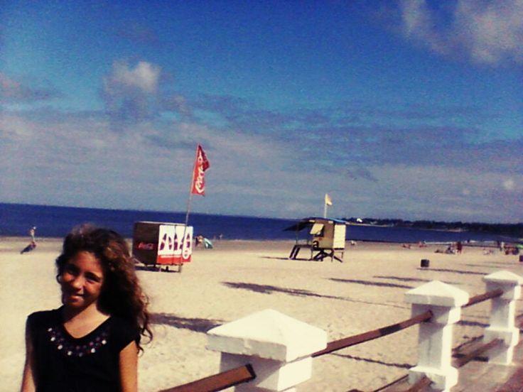 Playa en Uruguay