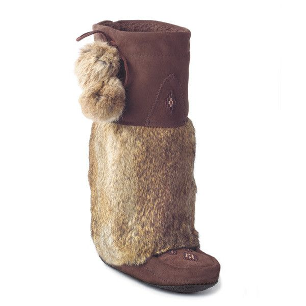Manitobah Tall Classic Mukluk with Crepe Sole