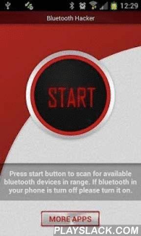 Bluetooth Hacker Prank  Android App - playslack.com ,  Bluetooth Hacker Prank is een GRAP app. Het pretendeert alleen hacken van mobiele telefoon via bluetooth verbinding. U kunt het gebruiken om uw vrienden truc die je kunt inbreken in ieder bluetooth apparaat binnen het bereik van uw mobiele telefoon. Met deze app kun je doen alsof je toegang tot alle bestanden op gehackte mobiele telefoon met inbegrip van prive-documenten, foto's en muziek te hebben.Onthoud dat deze app is gemaakt alleen…