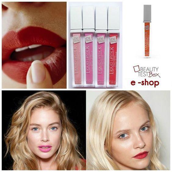 #Κραγιόν με πλούσια κρεμώδη υφή από την Aden Cosmetics για σταθερό #αποτέλεσμα μακράς διάρκειας! Shop Here: http://www.beautytestbox.com/woman/brands/aden-cosmetics?p=2 #beautytestbox #beautybox #redbox #btb #beauty #shop #eshop #aden #cosmetics #liquid #lipstick #colors #long_lasting #brand #love…