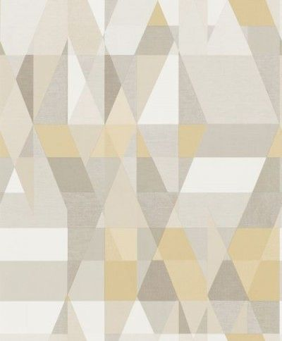 Axis (110835) - Scion Wallpapers - An all over geometric design in various colours. Shown here in various shades of grey, beige, taupe and white. Other colourways are available. Please request a sample for a true colour match. Paste-the-wall product. Wide width product.