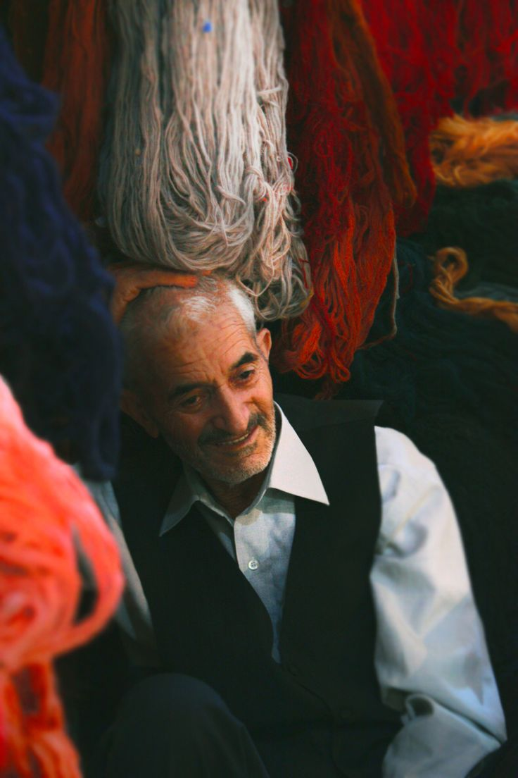 Tabriz ,Iran , An old carpet weaver man   An old man who had been dealing with colors, design, carpet in his whole life and he is not afraid of losing years he is not worried about his gray hair either ...he is not complaining at all ...   Photo by seyed ali sajadi