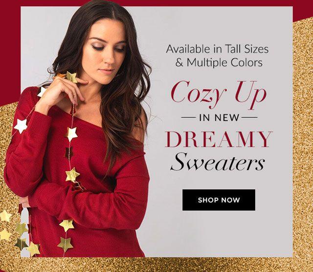 Cozy up i new dreamy sweaters