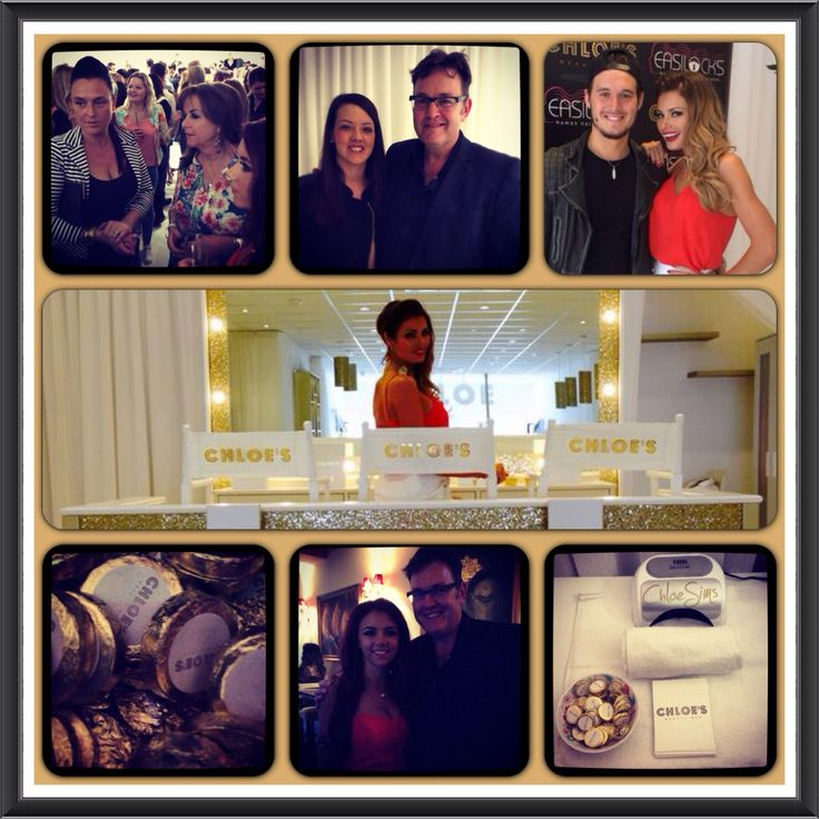 @SRHAIR at the launch of Chloe's Beauty Bar.   #EssexBest. #Essex