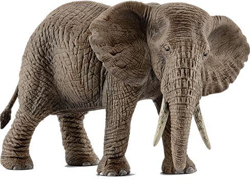 SCHLEICH 14761 afrikansk elefanthunn