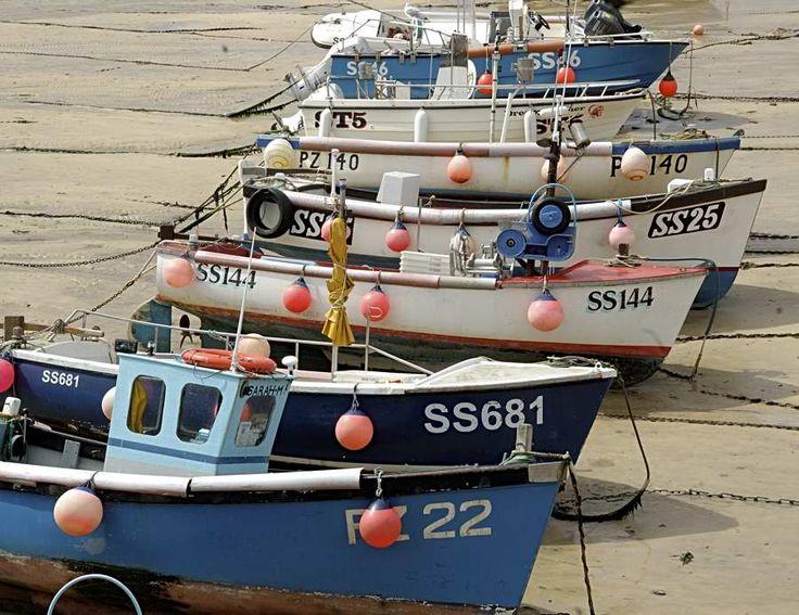 Boats at St Ives, Cornwall