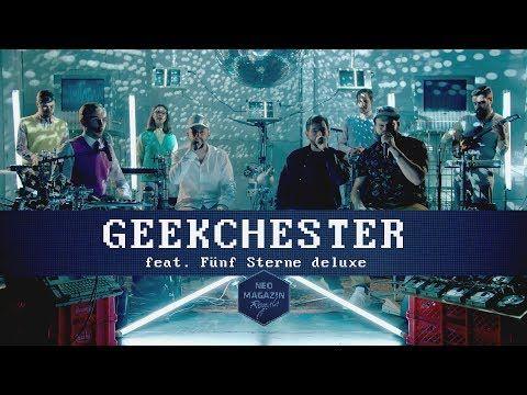 Fünf Sterne deluxe feat. Geekchester | NEO MAGAZIN ROYALE mit Jan Böhmermann - ZDFneo - YouTube