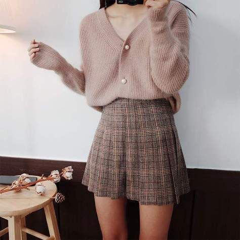 Korean fashion. Style skirt outfits, how you would…