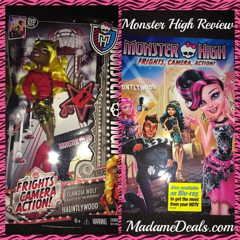 Monster High Frights, Camera, Action Review!: Advice Gal, Real Advice, Monster High, Reviews Giveaways, Action Review, High Fright, Monsters High
