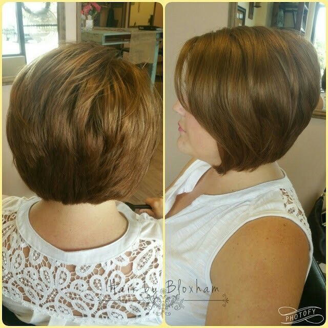 399 best images about Stacked Bob Haircuts on Pinterest