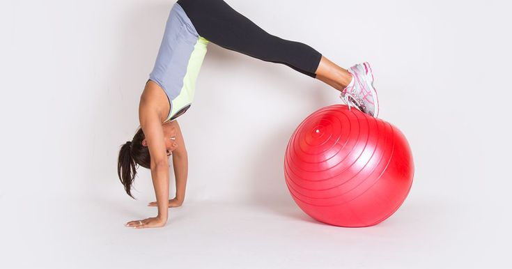 Stability balls are more than just fun to bounce on—they're a great way to target your lower body, upper body, and core.