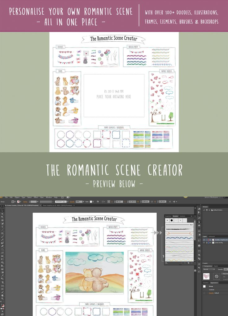 The Hopeless Romantic Toolkit is currently on sale on Creative Market. With over 130+ high res images of cute bear illustrations, romantic scene creator, backdrops, doodles, frame elements, patterns and brushes. Grab yours now and create amazing romantic cards in minutes! ❤️❤️❤️   #creativemarket #weddinginvitations #savethedate #rsvp #thankyou #card #weddingsuite #wedding #marriage #watercolor #watercolorflowers #handpainted #handpaintedesigns #watercolorflorals