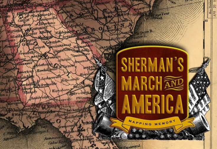 Sherman's March to the Sea Interactive Map