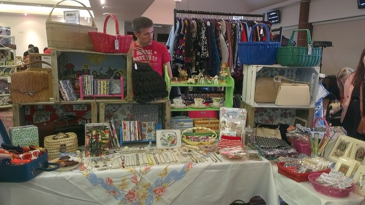 One of the stalls Epsom Vintage Fair