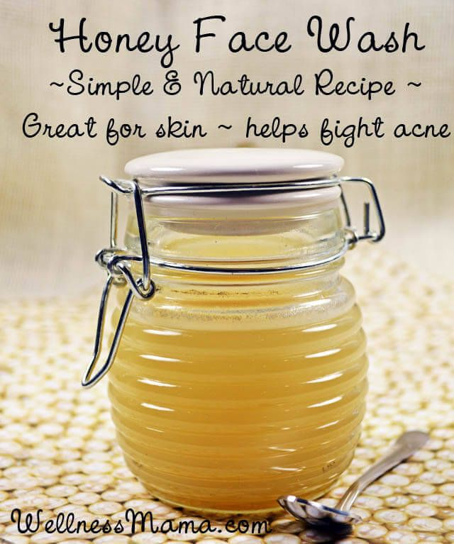Homemade Honey Face Wash - Honey face wash a simple homemade alternative to conventional cleansers that strip skin of its natural oils.