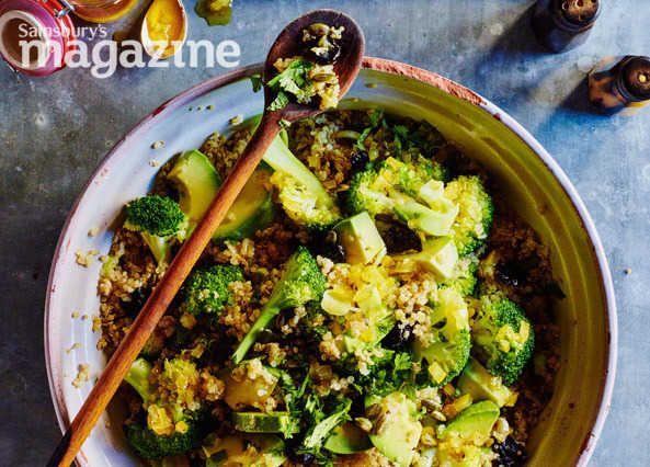 Quinoa salad with broccoli, lemon and avocado oil recipe | Homemade