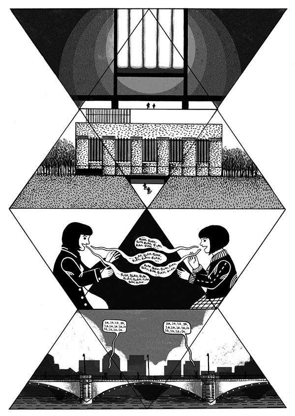 Tate Modern (PART 2) on Behance by Cristina Daura