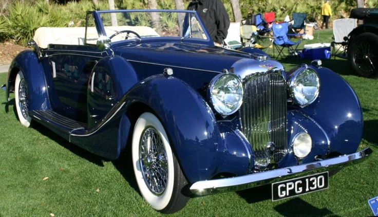 For My Future Garage Classic British Cars - 1938 LaGonda V12 Drophead Coupe