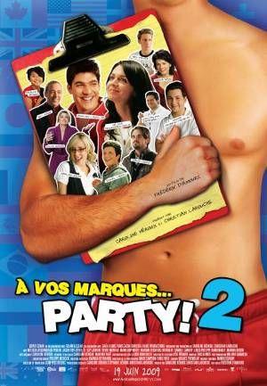 Film À vos marques... party! 2avec RosaLee Jacques (agence Mode é Arto)