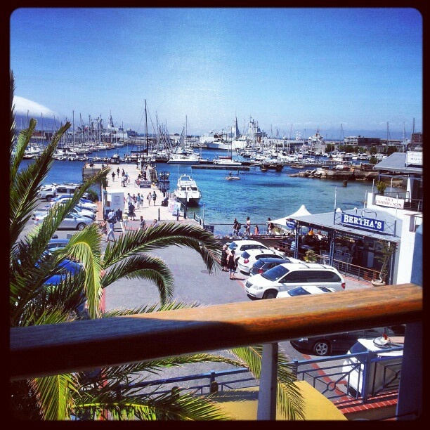 Harbour View Restaurant, Simon's Town. Great view, awful food! by AfricanTours, via Flickr