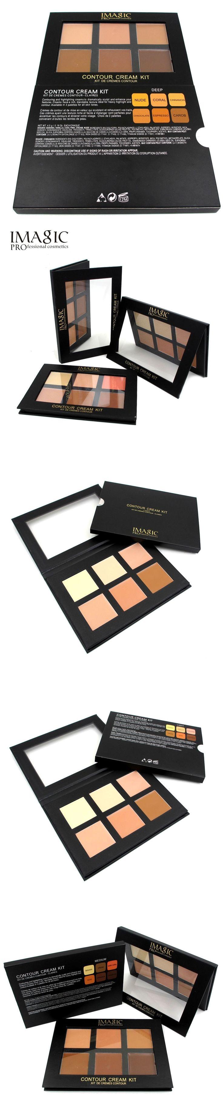 Professional Cream Contour Palette Concealer Palette Contouring Makeup Cosmetic Facial Care Cream Palette  Cottect