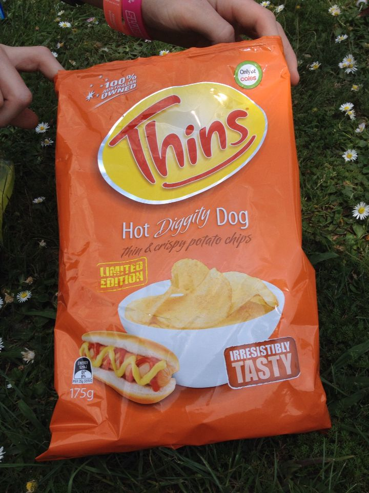 These are officially my favourite flavour of chips, HOT DIGGITY DOG!