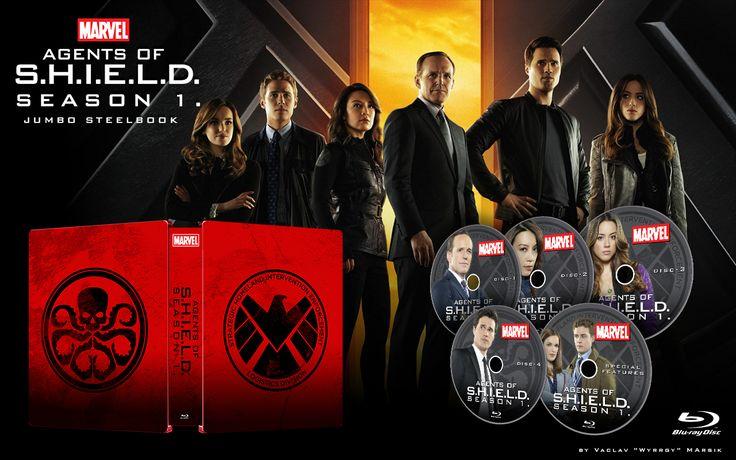 Agents of S.H.I.E.L.D. - JUMBO  - STEELBOOK -  Fan art