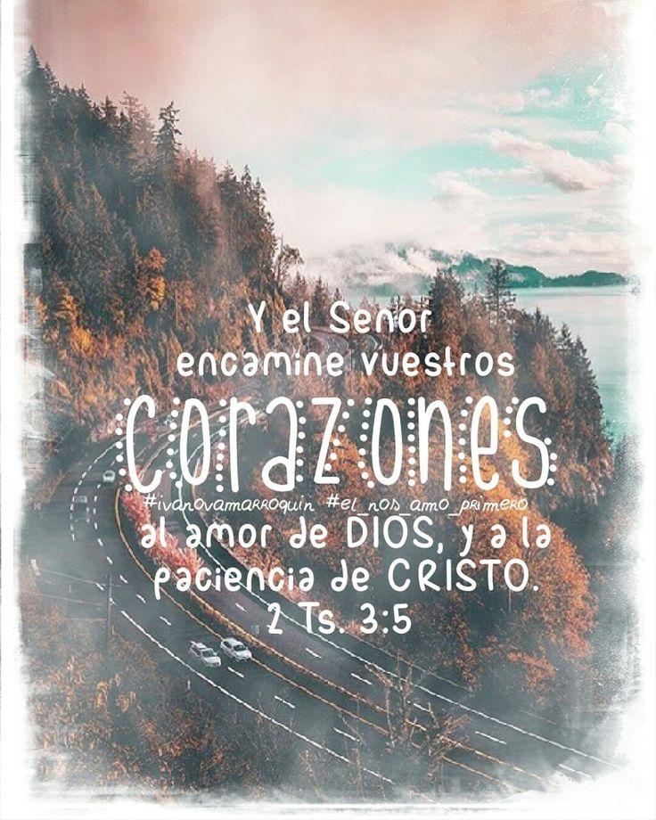 Amor de Dios y paciencia de Cristo