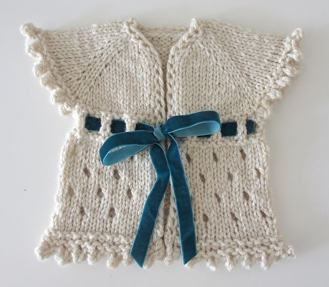 Free Pattern: Dirghagama baby cardigan by Henriette Roued-Cunliffe