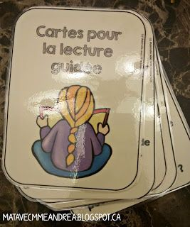 A detailed blog post with tips & tricks for how to do lecture guidée en français with your primary students!